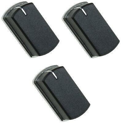 3 x Cooker Oven Hob Stove Grill Control Knob For Belling 444440165 444449565
