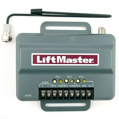 LiftMaster 850LM Security+2.0 3 Channel Gate & Commercial Door Radio Receiver