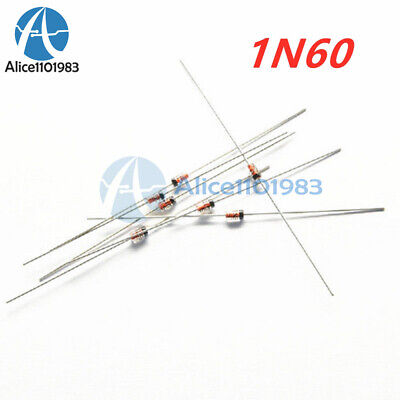 50PCS 1N60 1N60P Diode DO-35 Schottky Barrier Diode