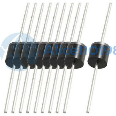 10PCS 10A10 R-6 10A 1000 Volts Silicon Rectifiers 1KV Diodes
