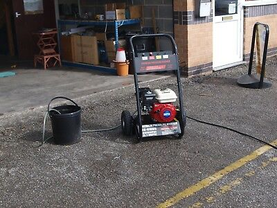 Moto X Petrol Pressure Washer 150Bar(2200PSI) Drum Fed