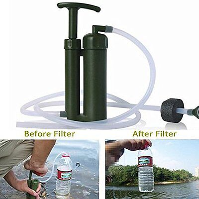 Soldier Hiking Camping Survival Emergency Cartridge ei Water Filter Purifier