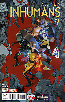 ALL-NEW INHUMANS (2015) #1 New Bagged