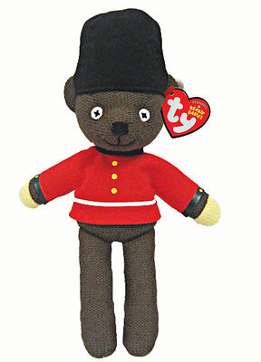 Mr Bean's Teddy Guardsman beanie bear by Ty - 25cm tall - UK Exclusive!