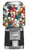 Single Barrel Candy Bulk Vending Machine - BLACK