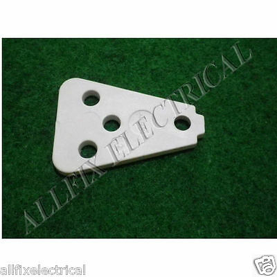 Used Kelvinator Fridge N360H N410H Top Door Hinge Spacer # 1437844SH