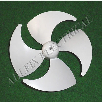 Genuine Whirlpool 12cm Plastic CCW Fan 3mm Mount & 4 Blades - Part # DA31-00010B