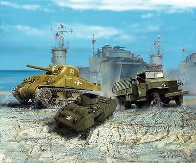 Revell US ARMY VEHICLES (WWII) 1:144 Revell 03350  X