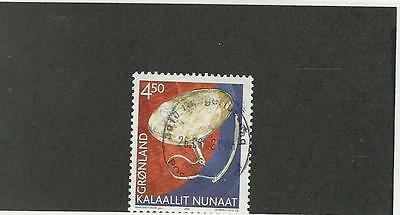 Greenland, Postage Stamp, #392 Used, 2002