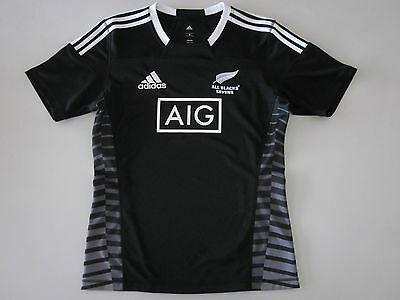NZ ALL BLACKS 7s RUGBY JERSEY MENS S - 4XL NEW BY ADIDAS NEW ZEALAND RUGBY UNION