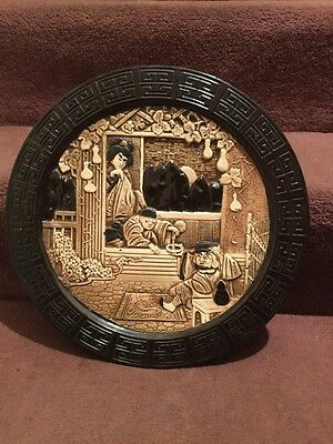 Large Bretby Wall Plaque