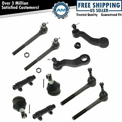 Steering Suspension Kit Ball Joint Tie Rod LH RH Set of 10 for Chevy GMC 2WD New