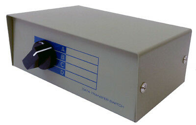 4 In 1 Out BNC Coax Composite Video Switch