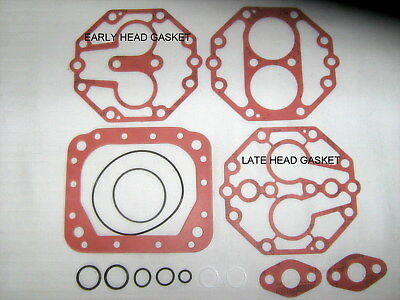 York 210, 209 A/c Compressor Gasket Kit W/fiber Gaskets Amc/ford/mercedes