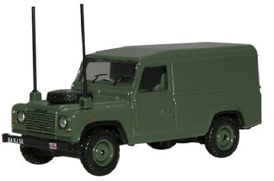 British Military Land Rover Defender  OO HO Oxford Die-cast 76DEF003