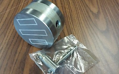 """4""""  Round Magnetic Chuck--fine pole-#H9603A-new"""