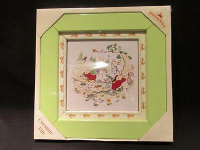 Royal Doulton Bunnykins 2001 Decorative Ceramic Tile New unopened in Box