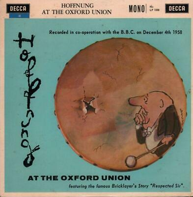"Hoffnung(10"" Vinyl)At The Oxford Union-Decca-LF 1330-UK-1960--VG/VG"