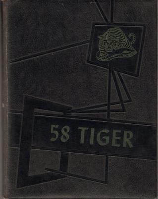 Rare 1958 Cocoa High School Yearbook Annual Florida Very Good Condition