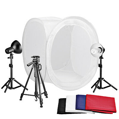 "Neewer Table Top 32x32""/80x80cm Round Photography Studio Tent Lighting Kit"