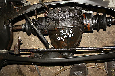 Differential 3.46  ABS   Mercedes  W124