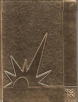 Rare 1963 Cocoa High School Yearbook Annual Florida Very Good Condition
