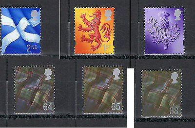Scotland Regional Stamps MNH & Used, SG S94 - 99 Choose your stamp