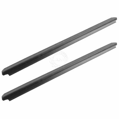 OEM Outer Window Sweep Belt Molding Rear Pair for 99-15 Super Duty Crew Cab