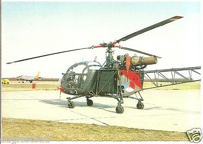 Helicopter Postcard - Hiller H-23 Raven - Royal Netherlands Air Force (P2509)