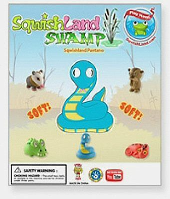 Sqwishland SWAMP Pencil Toppers - Vending Display Card - Collectible