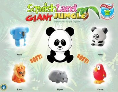 Sqwishland GIANT JUNGLE Pencil Toppers - Vending Display Card
