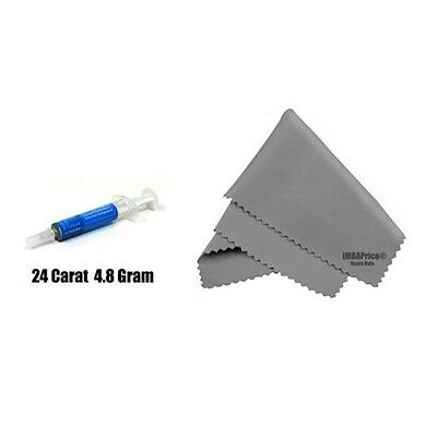 IC Diamond 24 Carat 4.8 Gram Thermal Compound + MicroFiber