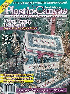 Plastic Canvas and More magazine June 1994 pattern book