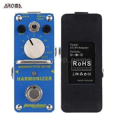 AROMA AHAR3 Harmonizer Harmonist/Pitch Shifter Electric Guitar Effect Pedal WV3L