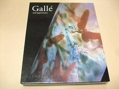 Rare Emille Galle Exhibition Catalogue Galle And Japonisme English 140 Works