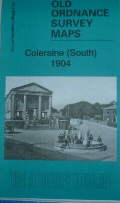 Old Ordnance Survey  Detailed Map Coleraine (South) Co Londonderry 1904 S7.07