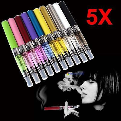 5x Color Electronic Powerful Vaporizer Kit E-Pen 650mAh Rechargeable Electric MT