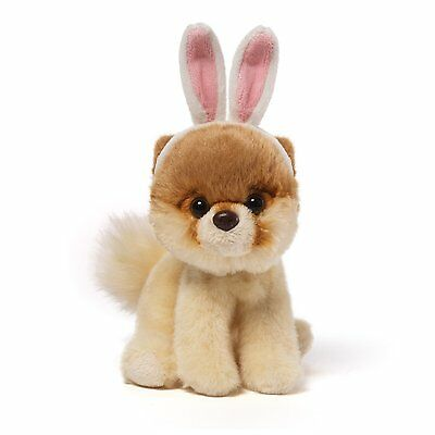 GUND Itty Bitty Boo - Wearing Bunny Ears - The Worlds Cutest Dog - Soft Toy