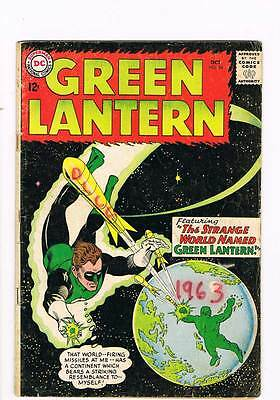 Green Lantern # 24 The Shark that hunted Human Prey! Kane cvr grade 3.0 scarce !