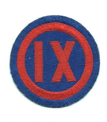 """Army Patch:  XI Corps - 3"""" Asian made"""