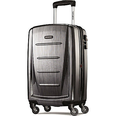 "Samsonite Winfield 2 Fashion HS Spinner 20"" - Charcoal"