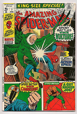 AMAZING SPIDER-MAN KING-SIZE SPECIAL #7 VF+ Reprints Amazing Spider-Man #1 & 2