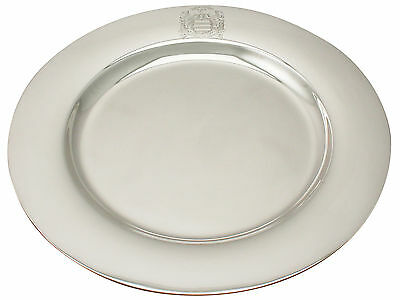 American Sterling Silver Plate - Antique Circa 1929
