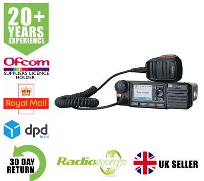 Hytera Md785 Vhf 25 Watt Digital Dmr Mobile Two Way Radio