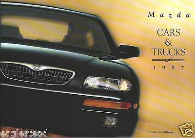 Auto Brochure - Mazda - Car and Truck - Product Line Overview - 1997 (AB727)