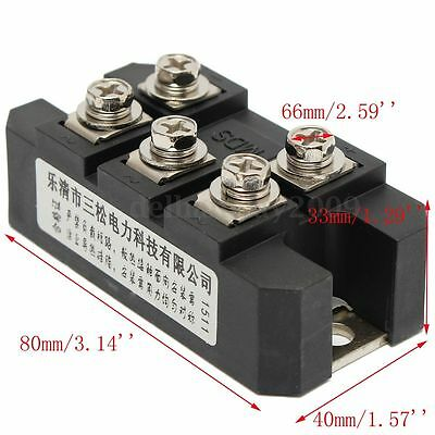 MDS150A Three / 3-Phase Diode Bridge Rectifier 150A Amp 1600V