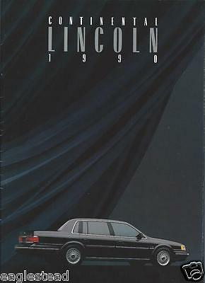 Auto Brochure - Lincoln - Continental - 1990 (AB740)