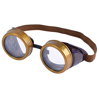 Steam Punk Goggles Fancy Dress Adult Glasses