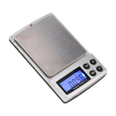 Mini bascula digital precision balanza pesa 0,1g a 1000g scale pocket nueva