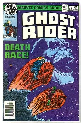 GHOST RIDER #35 Death Race! Marvel Comic Book ~ VF/NM